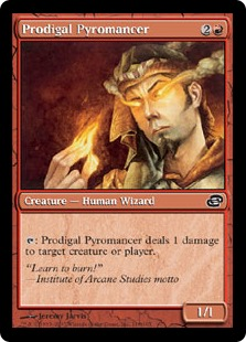 Prodigal Pyromancer PLC