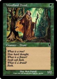 Woodland Druid ODY
