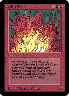 Wall of Fire 1E