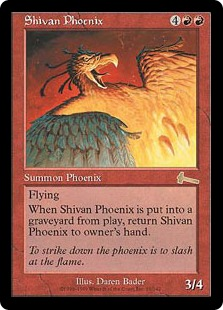 Shivan Phoenix ULG