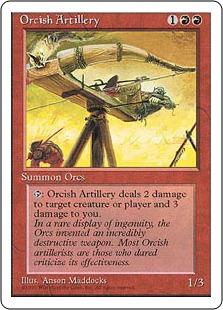 Orcish Artillery 4E