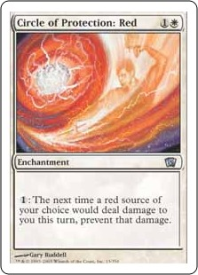 Circle of Protection Red 8ED