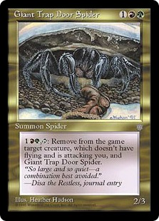 Giant Trap Door Spider IA