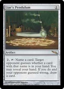 Liar's Pendulum MRD