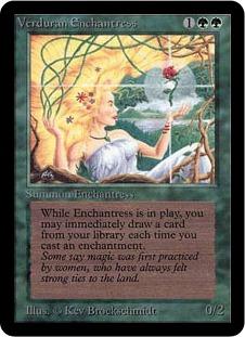 Verduran Enchantress 1E