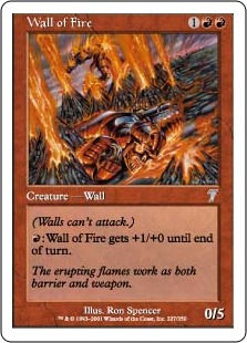 Wall of Fire 7E