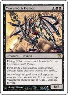 Yawgmoth Demon 9ED