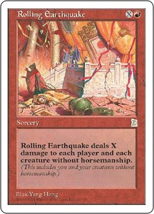 Rolling Earthquake PK