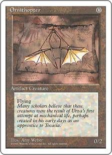 Ornithopter 4ED