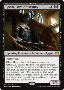 Gonti, Lord of Luxury KLD