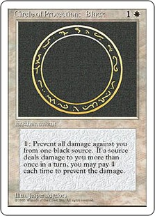 Circle of Protection Black 4E