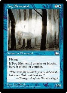 Fog Elemental WL