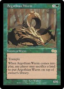 Argothian Wurm USG