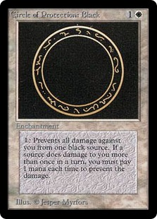 Circle of Protection Black 2E
