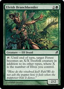 Elvish Branchbender LRW