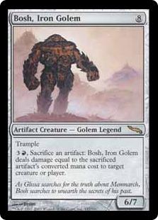 Bosh, Iron Golem MRD