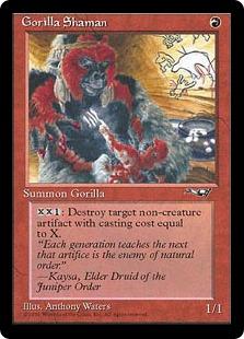 Gorilla Shaman AL