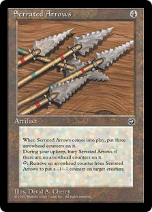 Serrated Arrows HM