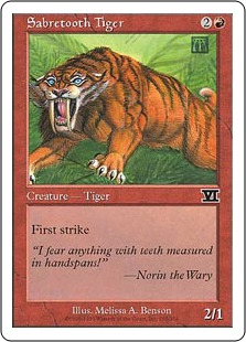 Sabretooth Tiger 6E