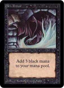 Dark Ritual 1E