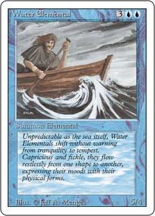 Water Elemental 3E