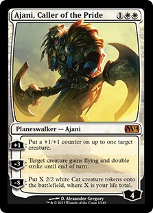 Ajani, Caller of the Pride M14