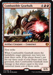 Combustible Gearhulk KLD