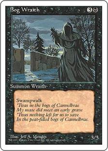 Bog Wraith 4E