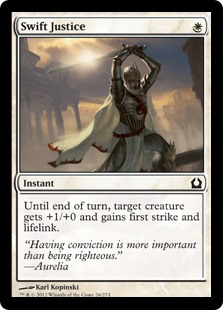 Swift Justice Return to Ravnica