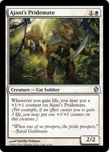 Ajani's Pridemate C13