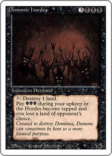 Demonic Hordes 3E