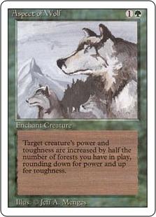 Aspect of Wolf 3E