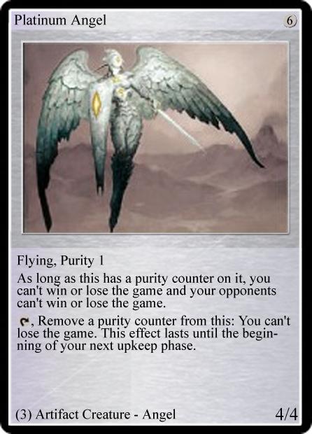 Cost U Less >> Platinum Angel (TL) | Magic: The Gathering fan fiction wiki | Fandom powered by Wikia