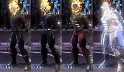 Ghost Rider MUA Costumes