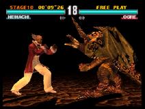 Heihachi VS Ogre