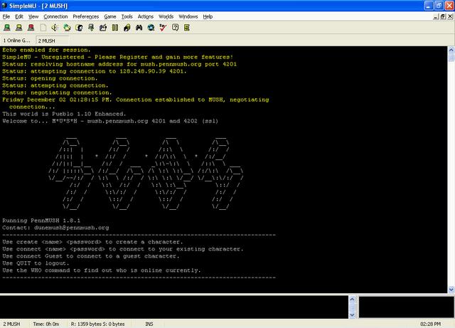 File:MUSH login screenshot.PNG