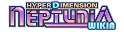 A Hyperdimension Neptunia affiliate logo