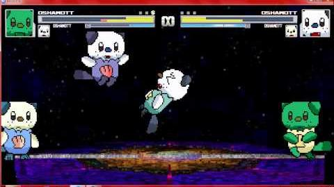 Mugen Oshawott and Oshawott vs Oshawott and Oshawott