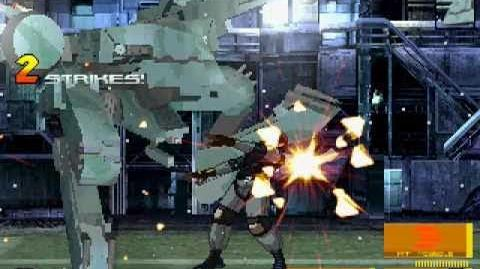 Mugen - Solid Snake vs