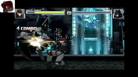 MUGEN - Solid Snake (AI) vs