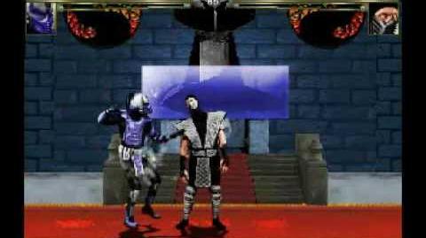 MUGEN - Cyborg Ninja UMK3 Demostration - Part 1