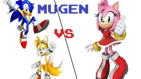 MUGEN Sonic and Tails vs. Amy Rose