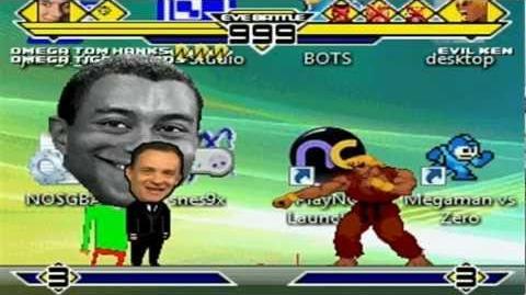 Omega Bros vs 4 Cheap Characters Part 3 MUGEN Battle!!!