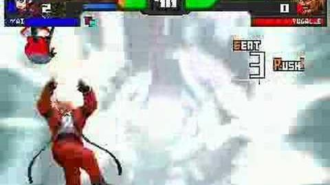 Darkflare fails at Mugen Rugal E(EvilslayerX5)