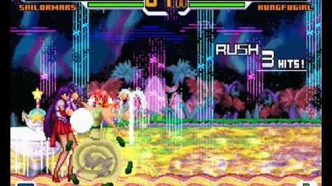 Mugen - Sailor Mars vs Kung Fu Girl