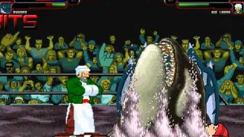 TheMattalocalypse Random Mugen Battle - 371 - Mr. Funny & Ryugen VS