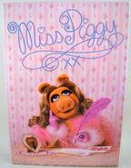 Milton bradley 1980 puzzle miss piggy writing