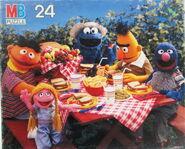 Milton bradley puzzle picnic