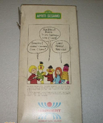 Sesame Street puppets (Harbert) Back