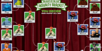 Third Month of the Year Insanity Bracket